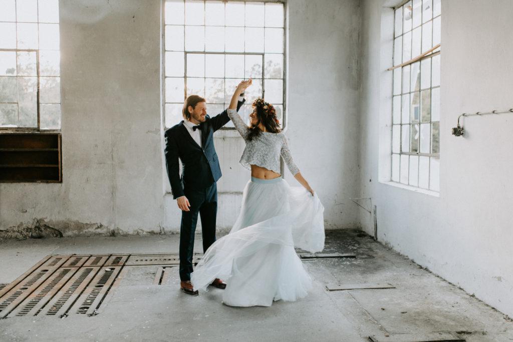 Ehepaar am Tag der Hochzeit in Graz fotografiert von Bianca Marie Fotografie