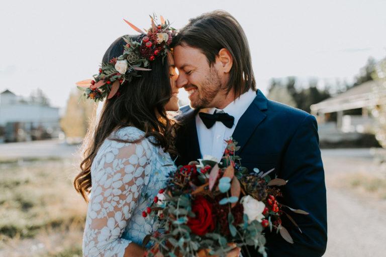 Ehepaar am Tag der Hochzeit in Graz fotografiert von Hochzeitsfotografin Bianca Marie Fotografie