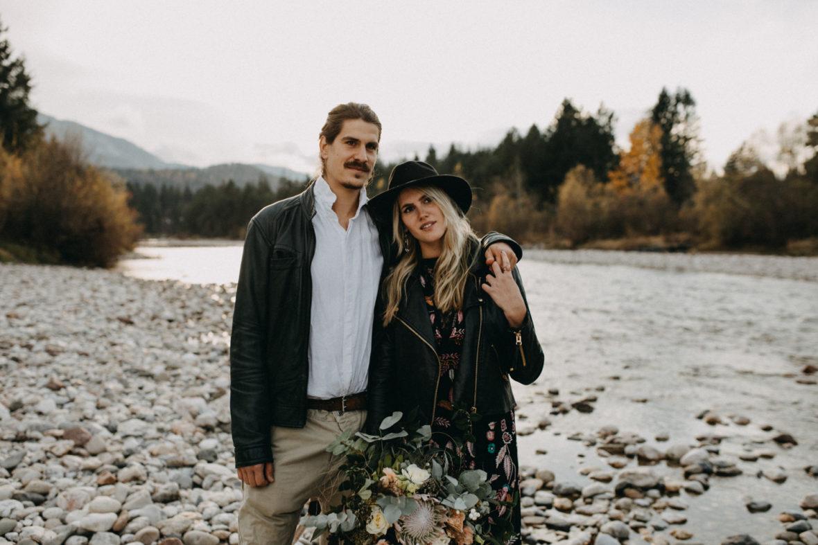 verliebtes elopement brautpaar in kärnten